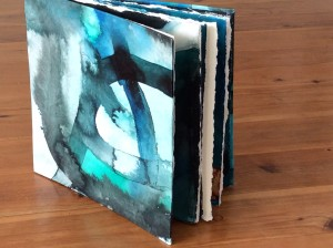 Artists Book, unique mixed media drawings