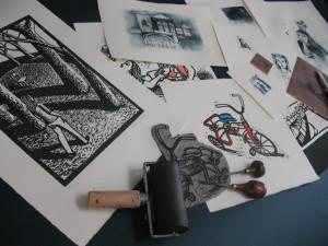 Printmaking by Shana James