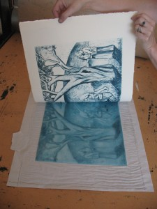 Shana James Drypoint Print
