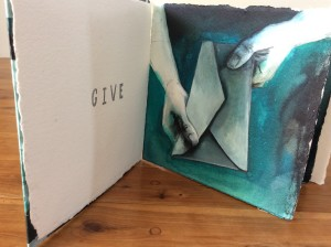 Transform Mixed Media Artists' Book by Shana James