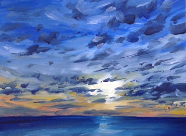 Harvey Mullen Oil Painting