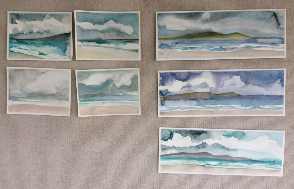 Ink Landscapes inspired by Middleton Beach Albany