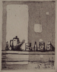 Mari Katayama etching