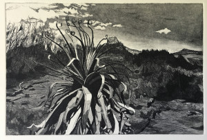 Etching & Aquatint by Harvey Mullen
