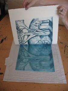 Shana James Drypoint Print
