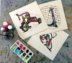 Handmade Linocuts by Shana James