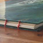 Elijah Artists Book with Coptic Binding by Shana James